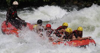 White Water Rafting at the Source of the Nile